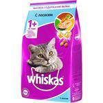Корм сухой для кошек Whiskas Сёмга/Тунец/Креветки 1,9кг