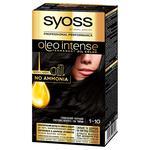 Vopsea de par Syoss Oleo Intense 1-10 negru cenusiu