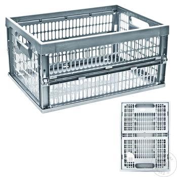 Ящик для хранения Style 43х32х23см - купить, цены на Метро - фото 2