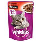 Hrană pentru pisici Whiskas Vită/Miel 85g