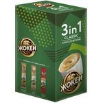 Кофе растворимый Жокей 3в1 классический 10x12г