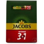 Cafea solubila Jacobs 3in1 intens 24x12g