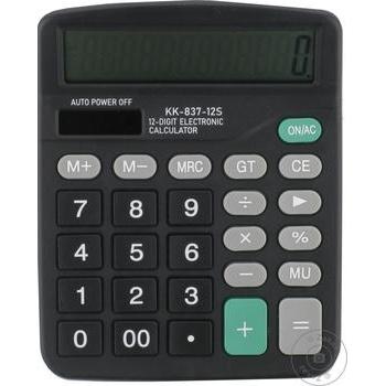 Калькулятор KD-8837A Kenko - купить, цены на Метро - фото 3