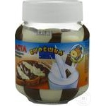 Crema Bureosca ciocolata/lapte 350g