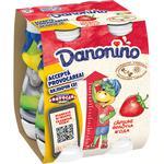 Iaurt de băut Danonino căpșune 100g x 4buc