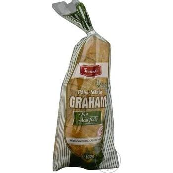 """Paine """"Graham"""" Franzeluta feliata 400g - cumpărați, prețuri pentru Metro - foto 1"""