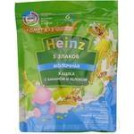 Terci Heinz 5 cereale/lapte/banane 200g