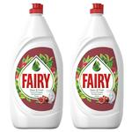 Средство для мытья посуды Fairy Pomegranate & Red Orange 2x800мл