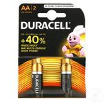 Baterii Duracell 2XAA MN1500 K2