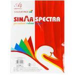 Цветная бумага А4 100 листов 10CL NS