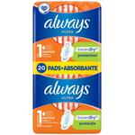 Absorbante Always Duo Ultra Protect 20buc