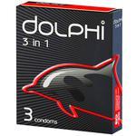 Презервативы Dolphi 3in1 3шт